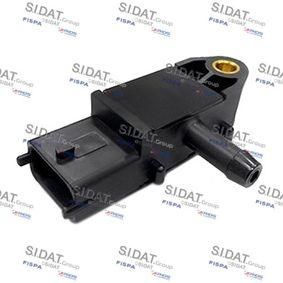 Sensore, Pressione gas scarico N° poli: 3a... poli con OEM Numero 51792301