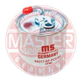 MASTER-SPORT  842/17-KF-PCS-MS Kraftstofffilter Höhe: 105mm