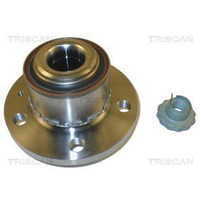 Radlagersatz Ø: 72mm, Innendurchmesser: 30mm mit OEM-Nummer 6Q0 407 621BT