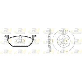 ROADHOUSE Dual Kit 8633.02 Bremsensatz, Scheibenbremse
