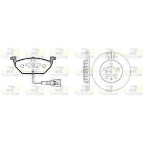 ROADHOUSE Dual Kit 8633.09 Bremsensatz, Scheibenbremse