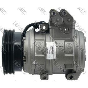 Klimakompressor Riemenscheiben-Ø: 125mm mit OEM-Nummer 10PA17C