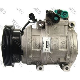 Klimakompressor Riemenscheiben-Ø: 124mm mit OEM-Nummer 10PA17C