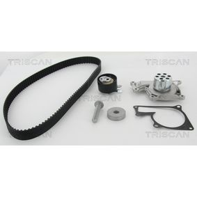 Water pump and timing belt kit 8647 100510 Clio 4 (BH_) 1.5 dCi 110 MY 2017