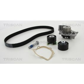 Water pump and timing belt kit with OEM Number 1855732