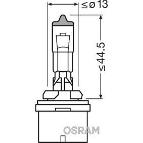 Bulb, headlight H27W/1, PG13, 27W, 12V 880CBI