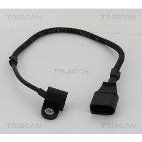 Sensor, posición arbol de levas Número de polos: 3polos, Long. cable: 450mm con OEM número 038 957 147G