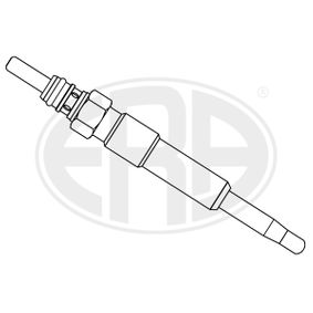 Glow Plug Total Length: 89mm, Thread Size: M10X1 with OEM Number 7701069730