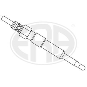 Glow Plug Total Length: 92mm, Thread Size: M10X1 with OEM Number N101401.04
