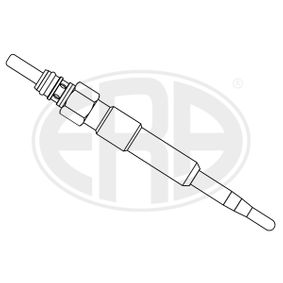 Glow Plug Total Length: 97mm, Thread Size: M10X1 with OEM Number N105 916 02