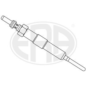 Glow Plug Total Length: 96,5mm, Thread Size: M10X1 with OEM Number 1106 500 Q0E