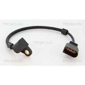 Sensor, posición arbol de levas Número de polos: 3polos, Long. cable: 315mm con OEM número 045957147 A