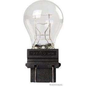 Bulb, indicator P27/7W, W2,5x16q, 12V, 27/7W 89901311