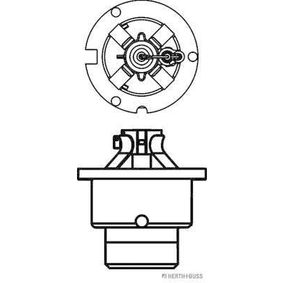 Bulb, spotlight D4R (gas discharge tube) 42V 35W P32d-6 4300K Xenon 89901319 TOYOTA Verso (_R2_)