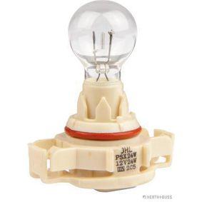 Bulb, fog light PSX24W, PG20-7, 24W, 12V 89901334 PEUGEOT 207, 206, 307