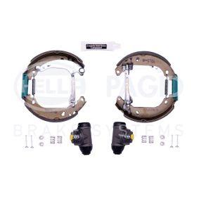 Kit frenos, disco de tambor con OEM número 2S6J2200BA