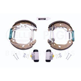 Brake Set, drum brakes 8DB 355 004-761 PUNTO (188) 1.2 16V 80 MY 2000