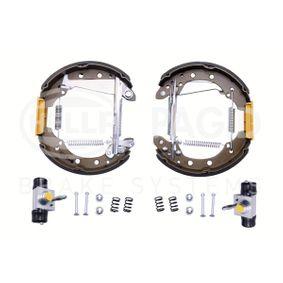 HELLA Shoe Kit Pro 8DB 355 004-981 Bremsensatz, Trommelbremse