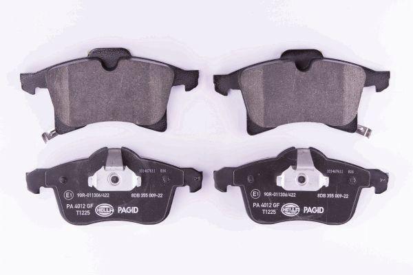 Disk brake pads HELLA 23833 rating
