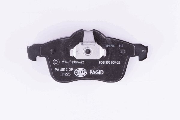 Disk Pads HELLA 8470D1361 expert knowledge