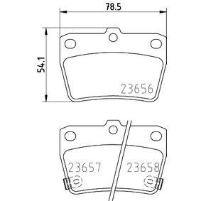 Brake Pad Set, disc brake 8DB 355 010-521 RAV 4 II (CLA2_, XA2_, ZCA2_, ACA2_) 2.0 MY 2003