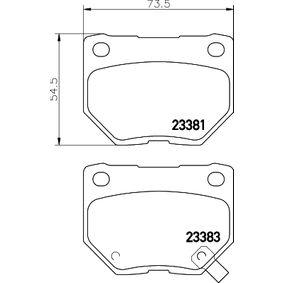 8DB 355 011-601 HELLA 8299D461 in Original Qualität
