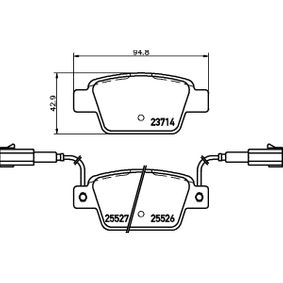 LANCIA Delta III (844) 1.4 Bifuel Federbalg, Luftfederung HELLA 8DB 355 020-181 (1.4 Benzin/Autogas (LPG) 2014 198 A4.000)