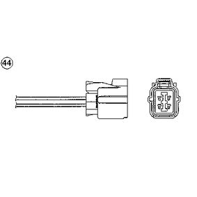 Lambdasonde mit OEM-Nummer 36532-PLR-A01