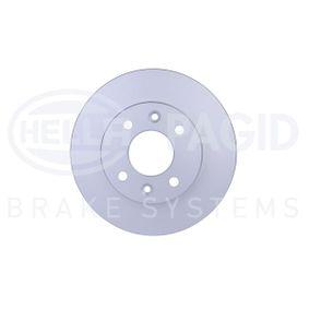 Bremsscheibe Bremsscheibendicke: 20,1mm, Ø: 238mm mit OEM-Nummer 7701 204 286