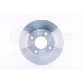 Bremsscheibe Bremsscheibendicke: 22,0mm, Ø: 257mm mit OEM-Nummer 4020 671 E06