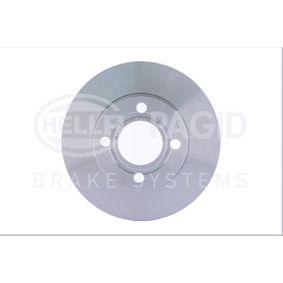 Bremsscheibe Bremsscheibendicke: 13mm, Ø: 256mm mit OEM-Nummer 895615301
