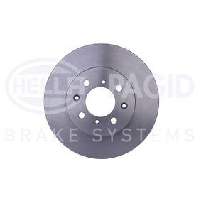 Спирачен диск дебелина на спирачния диск: 21,0мм, Ø: 262мм с ОЕМ-номер 45251 SK7-A00