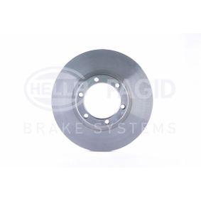 Bremsscheibe Bremsscheibendicke: 22,0mm, Ø: 257,0mm mit OEM-Nummer 8-94372-435-0