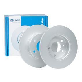 Bremsscheibe Bremsscheibendicke: 10mm, Ø: 264mm mit OEM-Nummer 917772