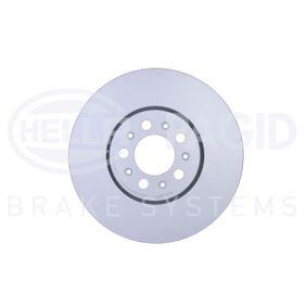 Bremsscheibe Bremsscheibendicke: 25,0mm, Ø: 287mm mit OEM-Nummer 6R0 615 301D