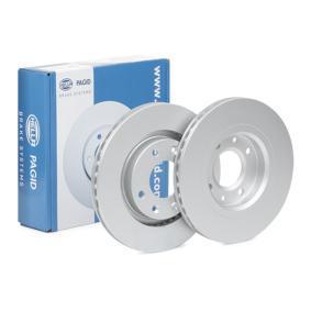 Bremsscheibe Bremsscheibendicke: 22,0mm, Ø: 266mm mit OEM-Nummer 1618890480