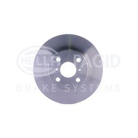 Disque de frein Epaisseur du disque de frein: 18mm, Ø: 254mm avec OEM numéro 43512 16 130