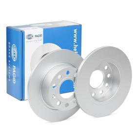 Bremsscheibe Bremsscheibendicke: 9,9mm, Ø: 253mm mit OEM-Nummer 5C0615601