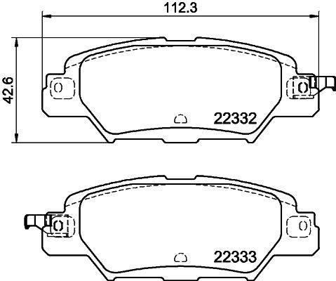 Bremsscheiben 8DD 355 109-641 HELLA 54211PRO in Original Qualität