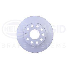 Bremsscheibe Bremsscheibendicke: 11,9mm, Ø: 256mm mit OEM-Nummer 1K0615601AJ