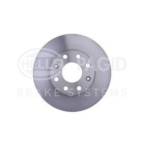 Disco de freno 8DD 355 111-341 Aveo / Kalos Hatchback (T250, T255) 1.6 ac 2009
