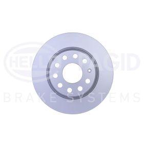 Bremsscheibe Bremsscheibendicke: 12,0mm, Ø: 282mm mit OEM-Nummer 1K0 615 601 M