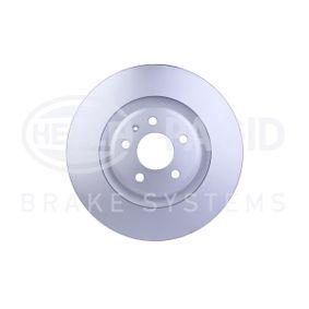 Brake Disc Brake Disc Thickness: 29,3mm, Ø: 345mm with OEM Number 8K0 615 301K