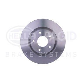 2013 Nissan Qashqai j10 1.5 dCi Brake Disc 8DD 355 114-601