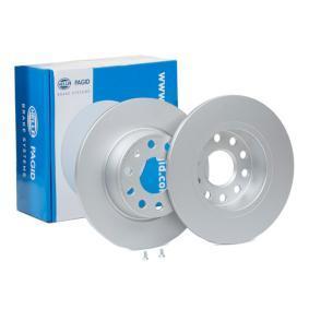 Bremsscheibe Bremsscheibendicke: 10mm, Ø: 272mm mit OEM-Nummer 8P0098601P