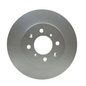 Bremsscheibe Bremsscheibendicke: 21mm, Ø: 262mm mit OEM-Nummer 45251TARG00