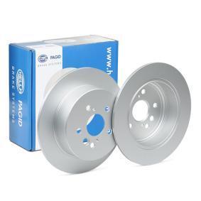 Brake Disc 8DD 355 118-721 RAV 4 II (CLA2_, XA2_, ZCA2_, ACA2_) 2.0 MY 2003