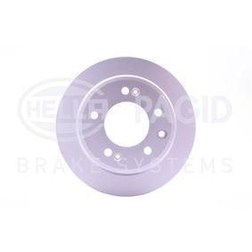 Brake Disc Brake Disc Thickness: 10mm, Ø: 262mm with OEM Number 5 841 11 H300