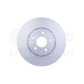 Brake Disc 8DD 355 118-931 E-Class Saloon (W212) E 350 CDI 3.0 MY 2011