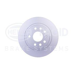 Bremsscheibe Bremsscheibendicke: 10,0mm, Ø: 278mm mit OEM-Nummer 93 184 247